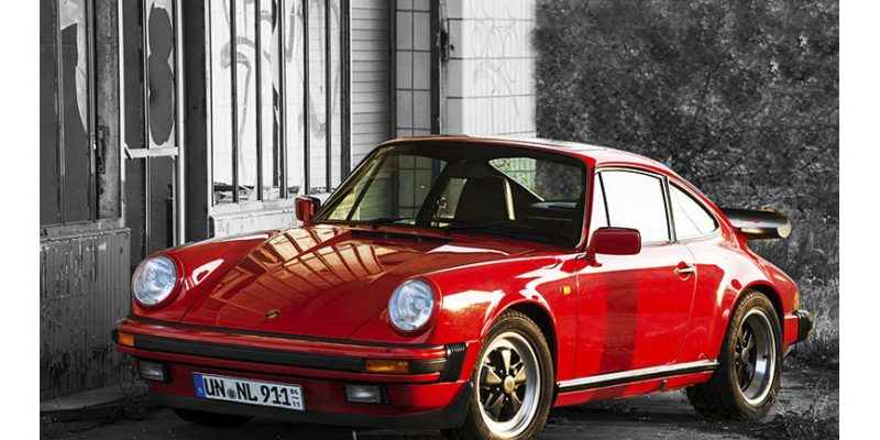 Schwager Detlef's Porsche